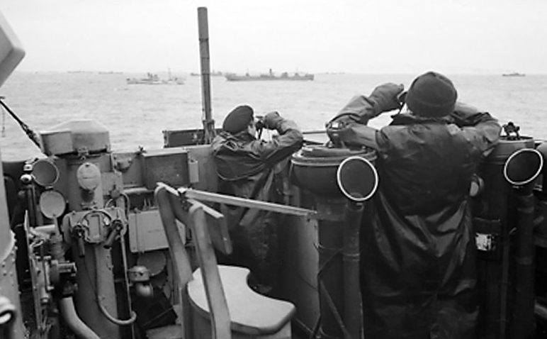 World War Two Timeline - The Atlantic Convoys are Britain's life-line