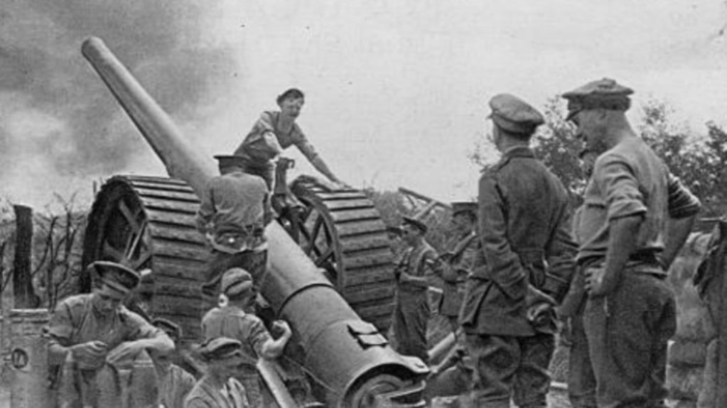 World War One Timeline - the allies relied upon heavy bombardments before an infantry attack