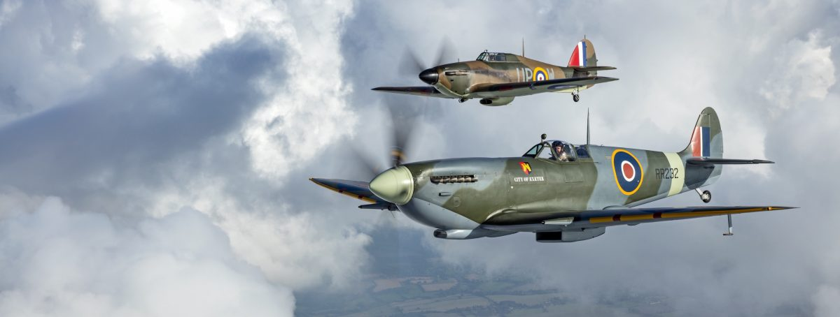 British_World_War_Two_Spitfire_and_Hurricane