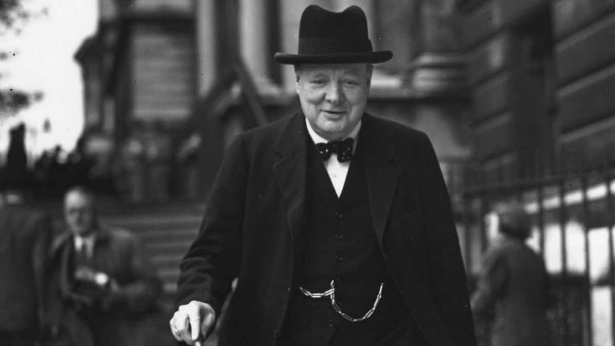 British Prime Minister: Winston Churchill