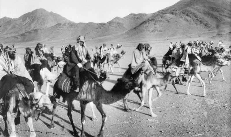 World War One Timeline - Lawrence of Arabia leads Arab Troops against the Turks