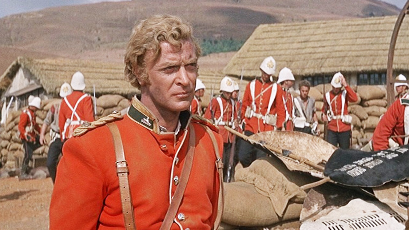 Michael Caine starring in the 1964 film Zulu