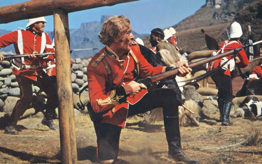 Michael Caine starred in the film Zulu as an officer in the 24th of Foot about the Battle of Rorke's Drift