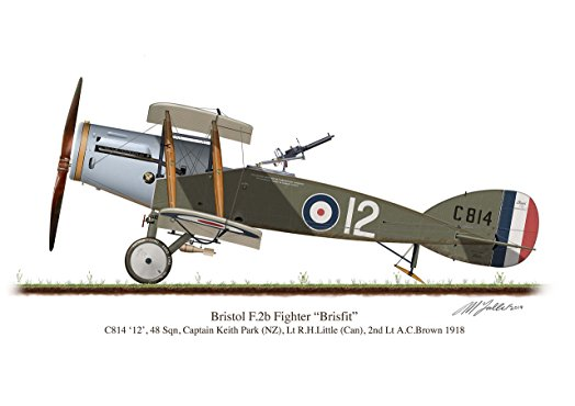Bristol F2b Fighter flown by Keith Park in the First World War