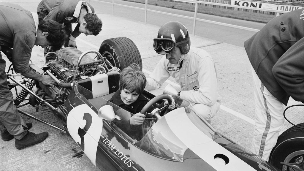 Graham_and_Damon_Hill,_father_and_son_both_F1_World_Champions