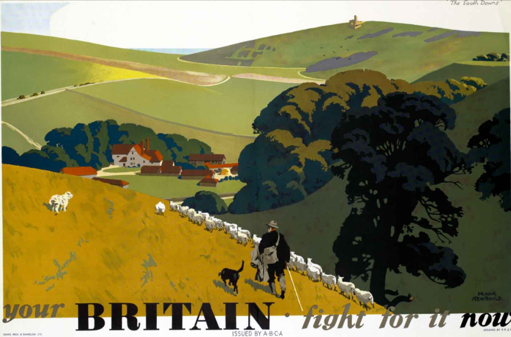 Frank_Newbould_-_Your_Britain_poster_during_WW2
