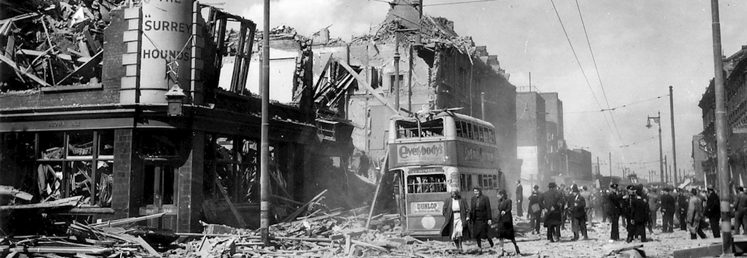 British Cities Bombed in the Blitz